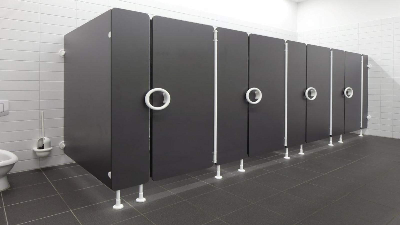 Pareti divisorie per servizi igienici